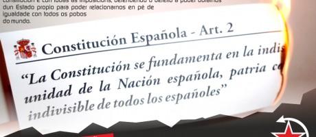 6 de decembro. Con España non temos futuro!