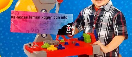 Os xoguetes non teñen xénero!