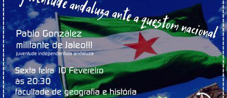 [Compostela] A juventude andaluza ante a questom nacional