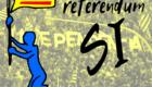1 de outubro. O pobo catalán vota SI!