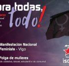 [8 de marzo] Para todas, todo! #FolgaDeMulleres