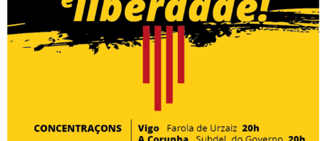 Paremos a repressom contra o povo catalám. Rachemos com o régime!