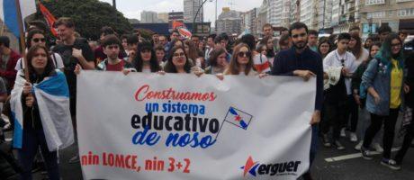 Nin LOMCE nin Boloña!  Pola defensa do ensino público e da liberdade!